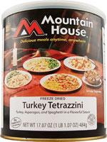 Mountain House Turkey Tetrazzini - 10 One Cup Servings