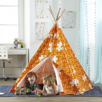 Merry Products Children's Teepee, Orange Puzzle