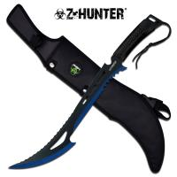 "Z-Hunter 23.75"" Machete - Blue"
