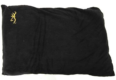 Browning Camping Fleece Pillow Black