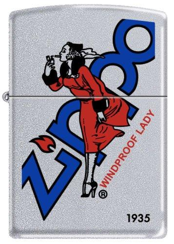 Zippo 205 Satin-Windproof Lady