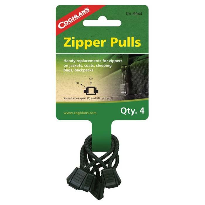 Coghlan's Zipper Pulls, Package of 4