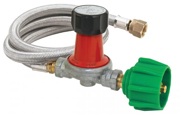 Bayou Classic 5psi hose/Regulator/Valve