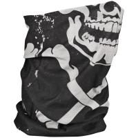Zan Headgear Motley Fleece Tube - Skull Bones