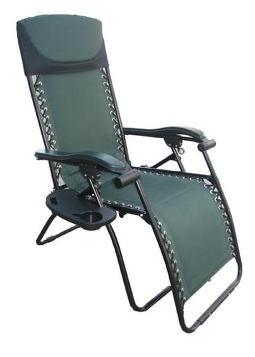 Wilcor Deluxe Patio/RV Recliner - Green