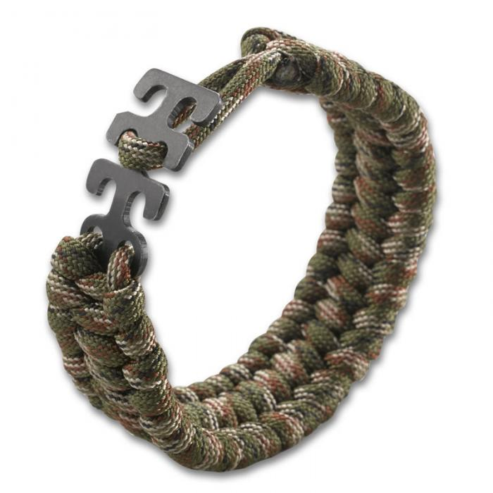 Columbia River (CRKT) Adjustable Paracord Bracelet - Camo