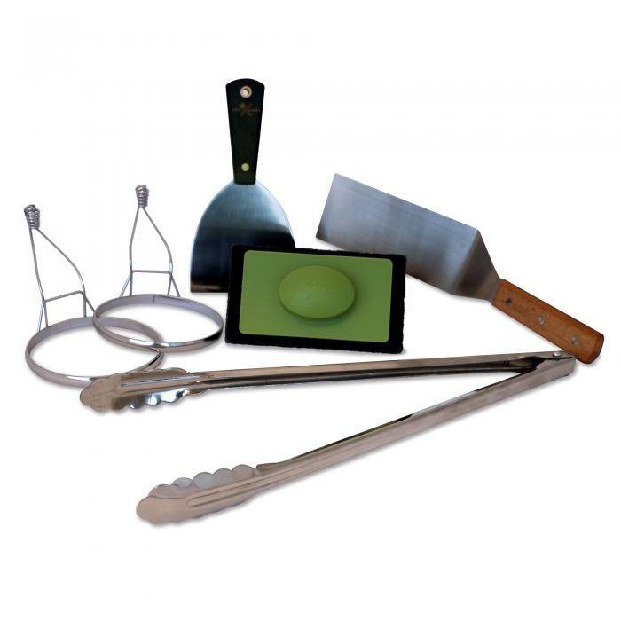 Griddle Cooking and Cleaning Kit by Little Griddle