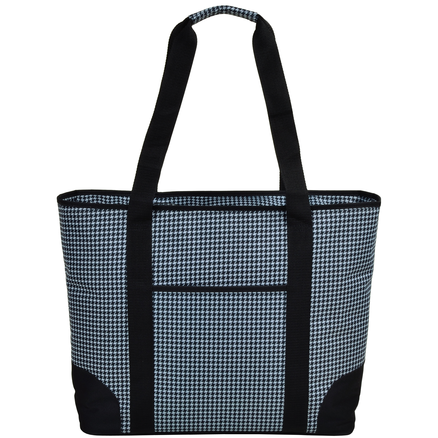 Picnic At Ascot Extra Large Insulated Cooler Bag 30 Can Tote Houndstooth