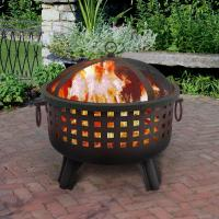 Landmann Black & Black Firepit, Savannah Collection
