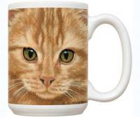 Fiddler's Elbow Orange Tabby 15 oz Mug