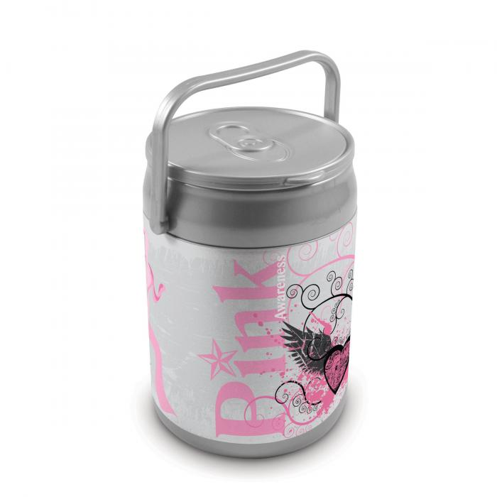 Picnic Time 9 Quart Capacity Can Cooler - Pink Power Can