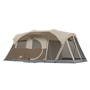 Coleman WeatherMaster 6 Screened Tent w/Hinged Door - 17' x 9'