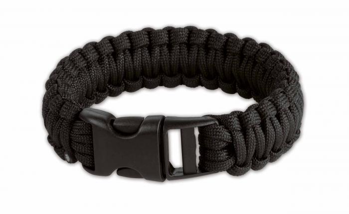 Boker Plus Survival Bracelet, 8 in., Black