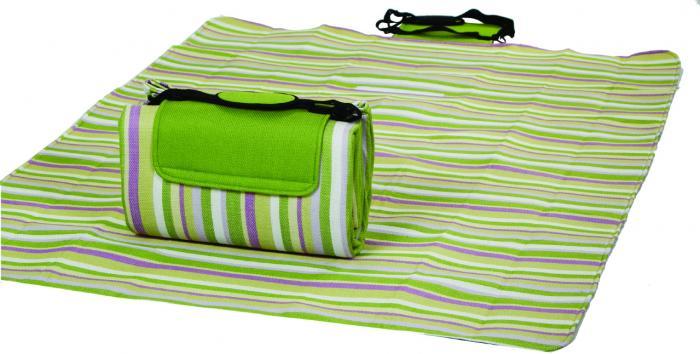 "Mega Mat Folded Picnic Blanket with Shoulder Strap - 48"" x 60"" (Lime Rickey)"