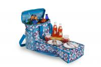 Picnic Plus Merritt Cooler Bag with Foldout Table - Sea Glass
