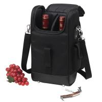 Picnic at Ascot Two Bottle Cooler Tote (Black)