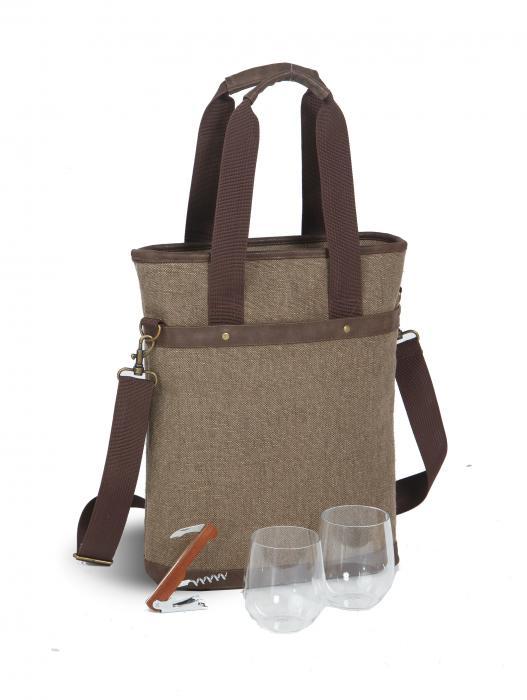 Picnic Plus Omega Double Bag - Brown