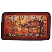 "Rivers Edge Products 18""x30"" Door Mat-welcome Deer"