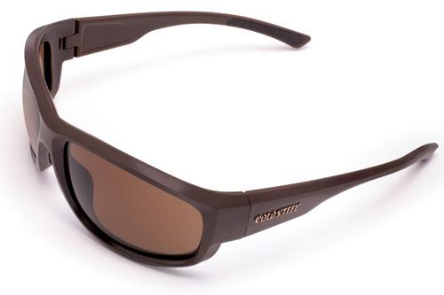 Cold Steel Knives Battle Shades Mark II, Dark Matte Brown, Brown Lens