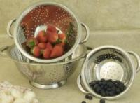 Cookpro 3 Pc Stainless Steel Colander Set