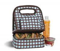 Picnic Plus Savoy Lunch Bag - Blue Oyster