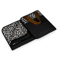 Picnic Time Vista Outdoor Blanket - Leopard Print
