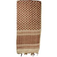 Shemagh Head Wrap, Tan/Brown