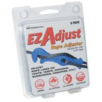 Grabbit Ez Adjust Rope Adjuster, 6 Pack Yellow