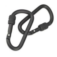 CAMCON -Locking Carabiner Black Large