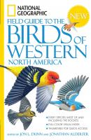 Random House Nat'l Geo FG to Birds of Western NA