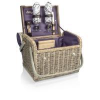 Picnic Time Kabrio Wine Basket - Aviano