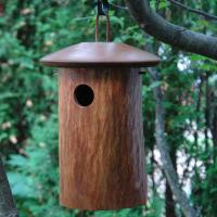 Byer of Maine Clipper Natural Bluebird House