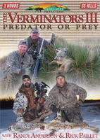 Stoney-Wolf The Verminators 3: Predator or Prey - DVD