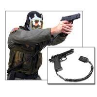 Blackhawk Product Group Tactical Pistol Lanyard, Coil Black