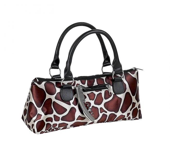 Primeware Single Bottle Wine Clutch - Giraffe