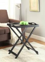 Designs2Go Folding Tray Table, Black