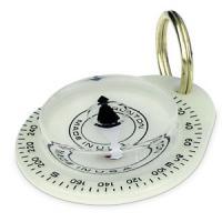 Brunton Glow Mate Key Ring Compass