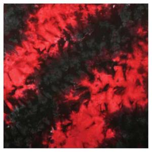 Liberty Mountain Bandana Tie Dye Red/Black