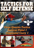 Stoney-Wolf Tactics for Self Defense (Triple Feature) DVD - Gun Site Academy