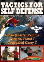 Stoney-Wolf Tactics for Self Defense (Triple Feature) DVD - Gun Site Academy