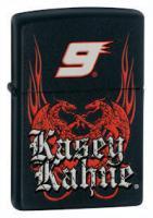 Zippo Kasey Kahne- Black Matte