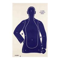 Champion Traps & Targets Police Silhouette Target B21E (100/Pk)