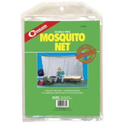 Coghlans Double Wide Backwoods Mosquito Net, White