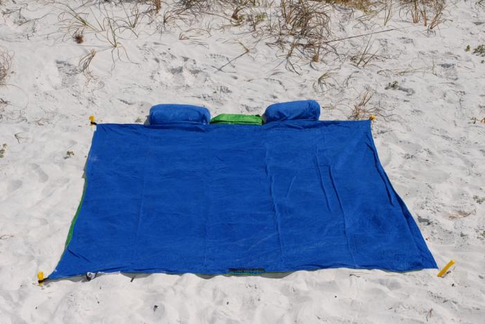 "ABO Gear Beach Hugger Beach Towel For Two (84"" x 60"")"