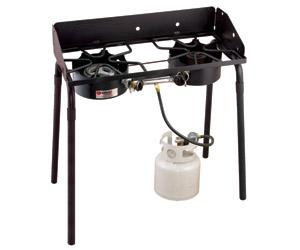 Camp Chef Outdoorsman High/Low Combo 2 Burner Stove