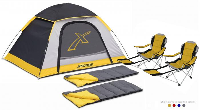 Xscape Designs Explorer 2, Sportline & Sleeping Bag Combo