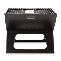 Picnic Time X-Grill, The Folding Portable Charcoal BBQ Grill