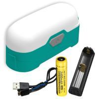 LR30 Portable Compact  Lantern, Jungle Green, 205lm, 18650
