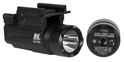 NcStar Compact Flashlight/Laser with Quick Release Mount