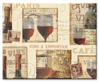 Counter Art French Cellar Glass Cutting Board 12 x 15